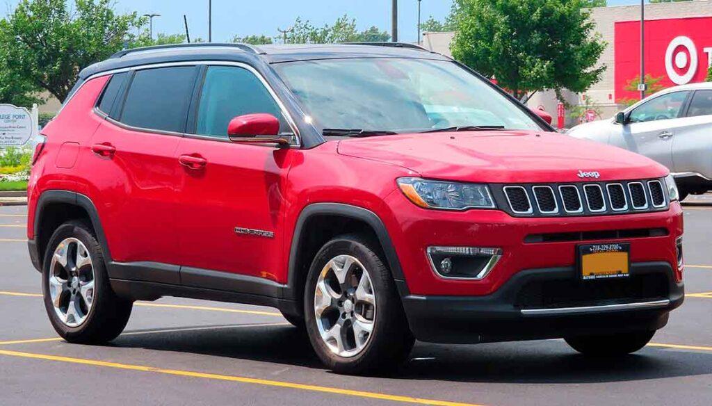 Carros com seguros mais baratos Jeep Compass