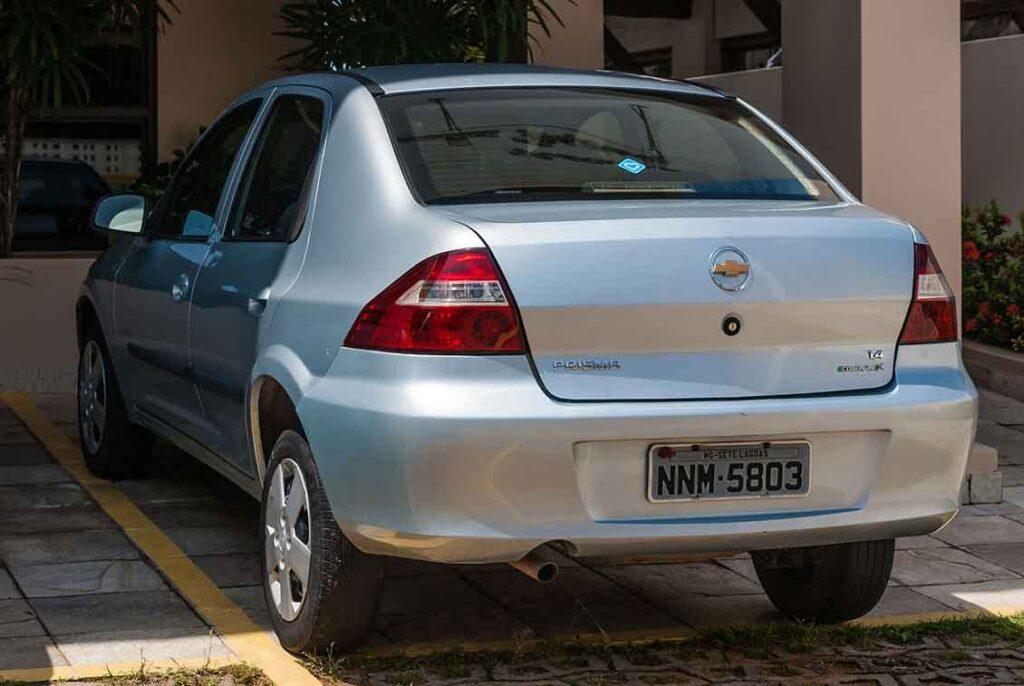 Carros com seguros mais baratos Prisma