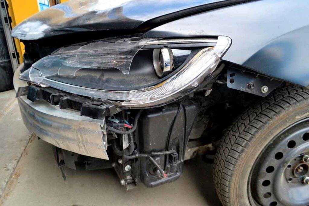 Porto seguro auto colisão