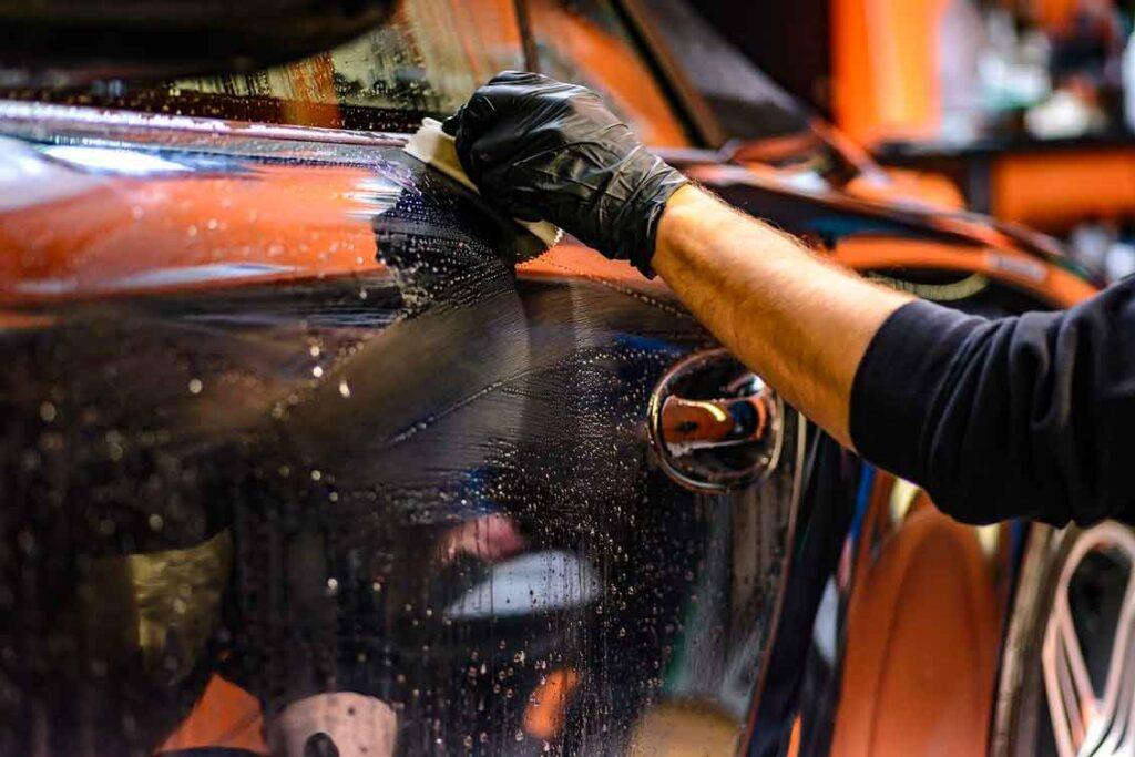 Porto Seguro Auto Limpeza de carro em caso de alagamento