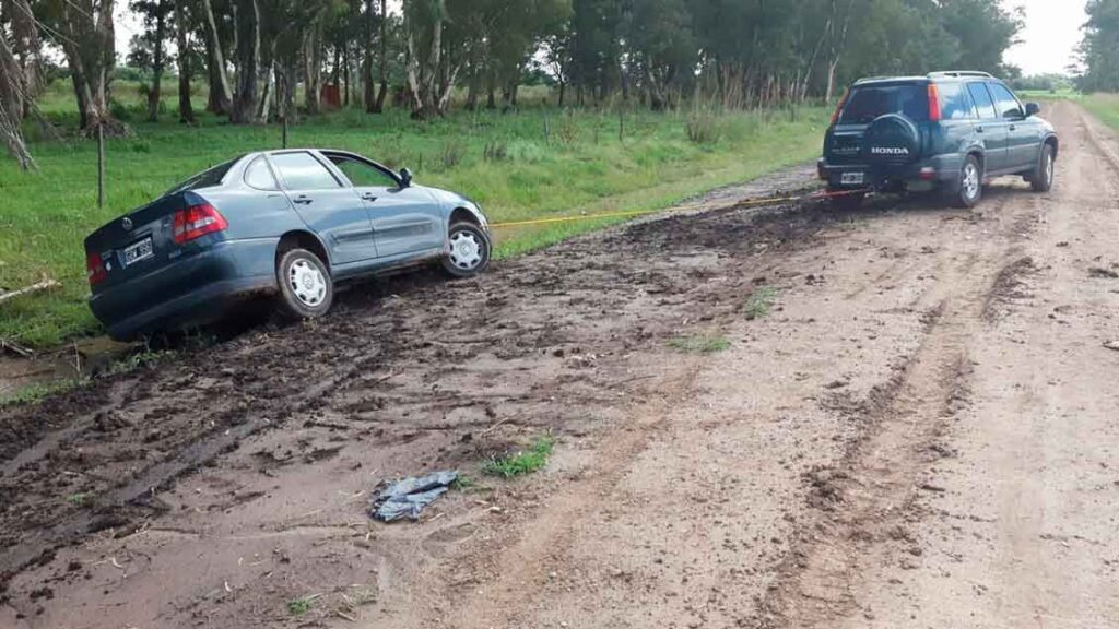 Carro sem seguro acidente