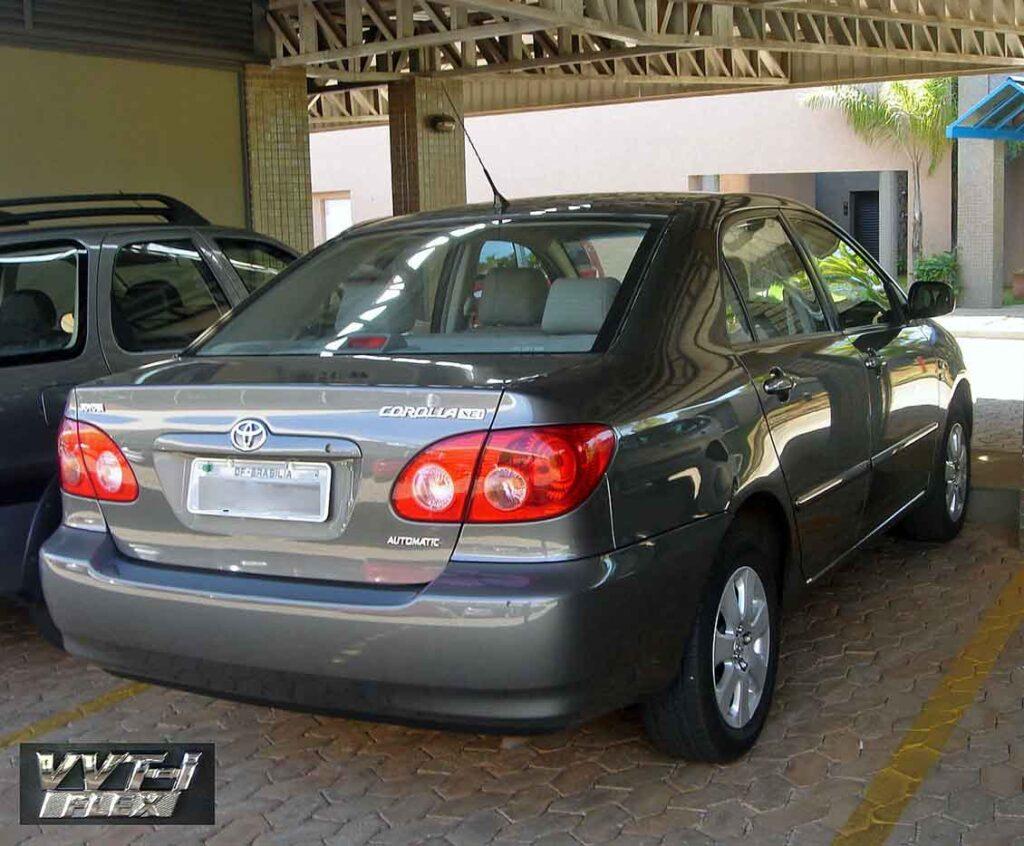 Carros mais roubados Corolla