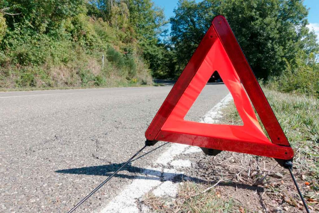 Como acionar o seguro sinalize o local