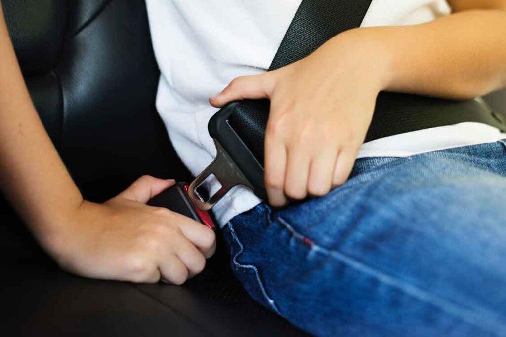 Manutenção de carros cinto de segurança