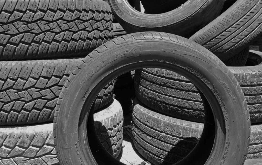 Rodizio de pneus pneus usados podem gerar multas