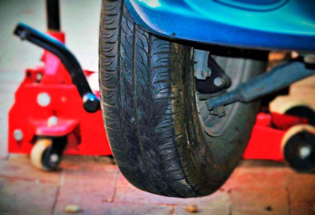 Rodizio de pneus revisão